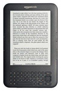 Kindle EBook Reader DX