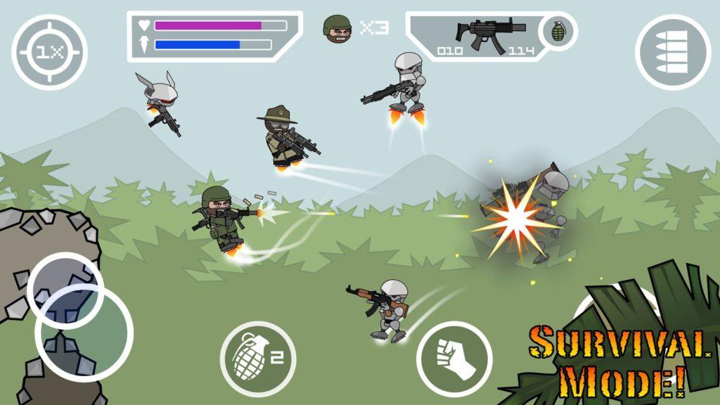 doodle army mini militia