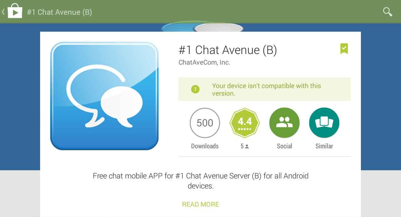 chat avenue app