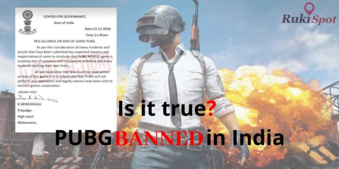Complete Truth behind PUBG banned in India