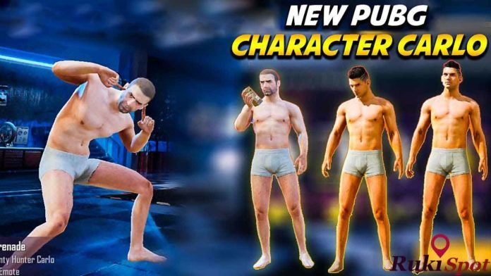Pubg pdated Version : Carlo Character