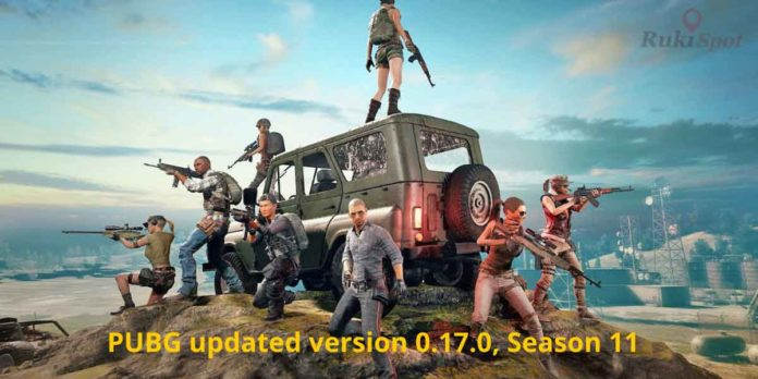 PUBG updated version 2020, Season 11