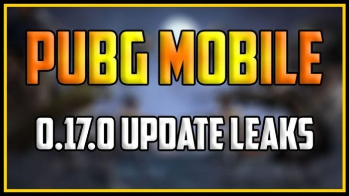pubg 0.17.0 update