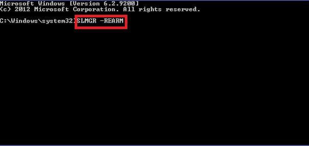 Your Windows license will expire soon error