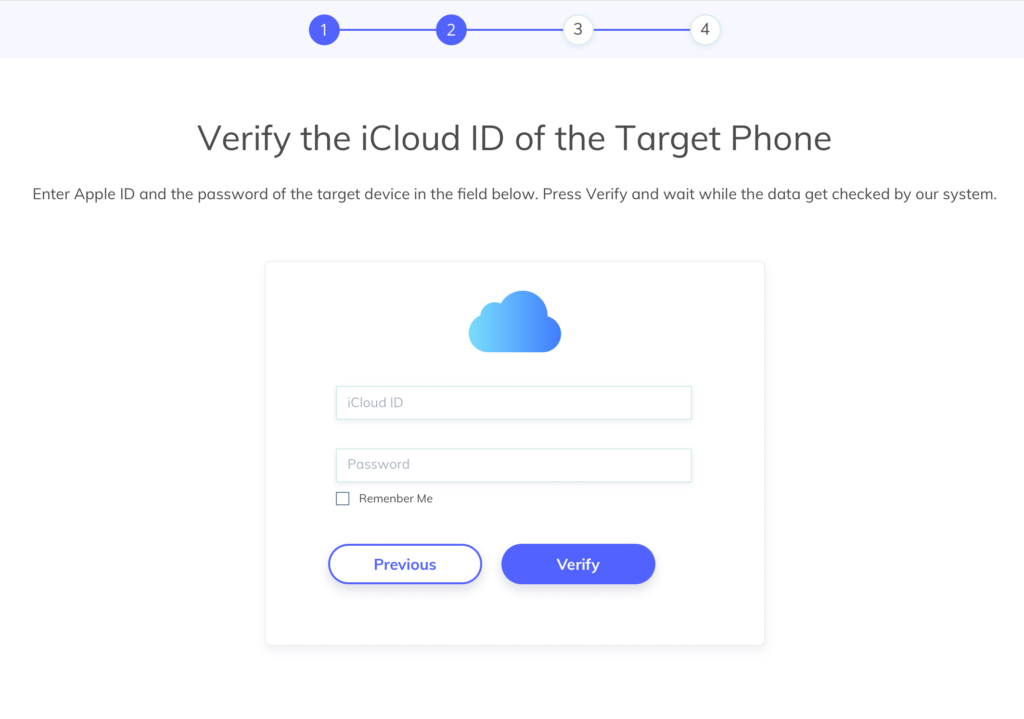 fonemonitor verify icloud id guide